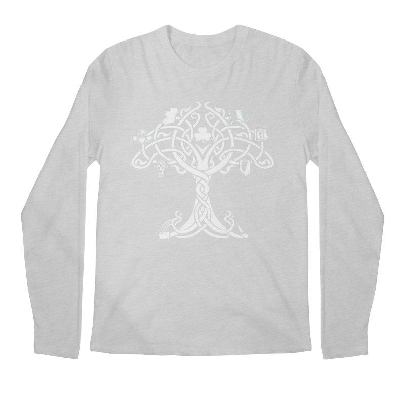 Irish Tree of Life Men's Regular Longsleeve T-Shirt by Brian Harms