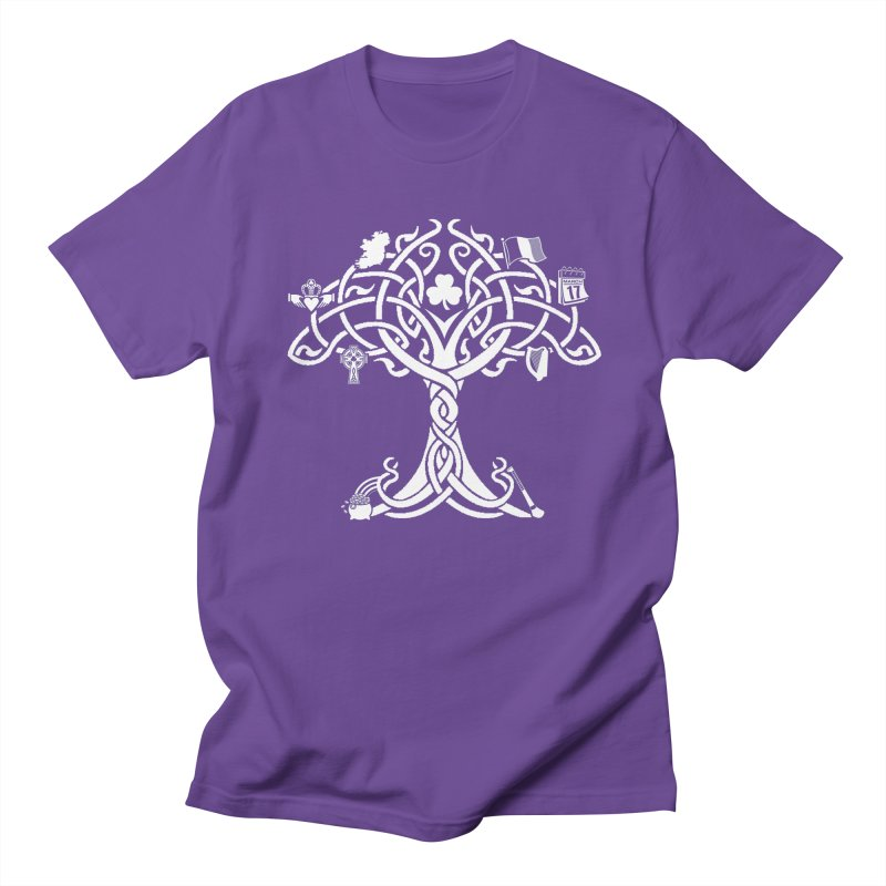 Irish Tree of Life Men's Regular T-Shirt by Brian Harms