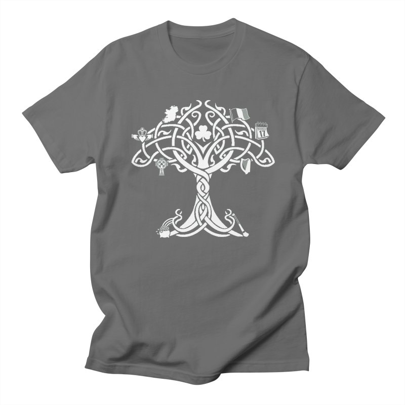 Irish Tree of Life Men's T-Shirt by Brian Harms