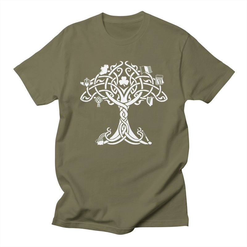 Irish Tree of Life Women's Regular Unisex T-Shirt by Brian Harms