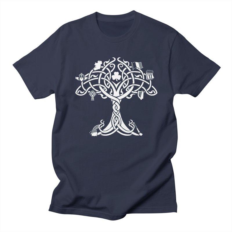 Irish Tree of Life Women's Regular Unisex T-Shirt by Brian Harms