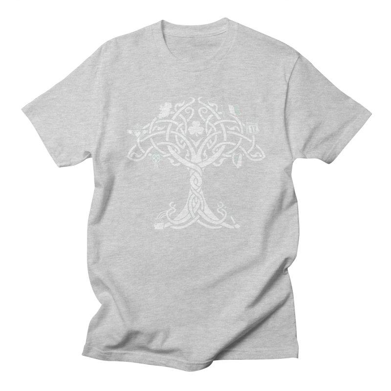 Irish Tree of Life Men's Regular T-Shirt by Brian Harms