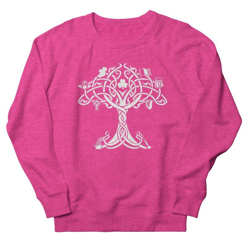 Irish Tree of Life Men's French Terry Sweatshirt by Brian Harms