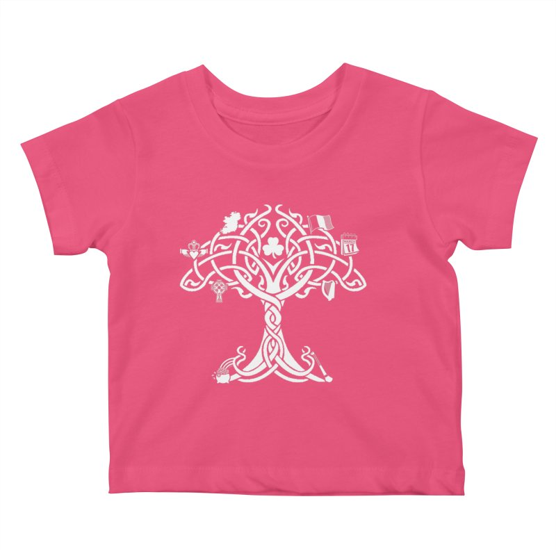 Irish Tree of Life Kids Baby T-Shirt by Brian Harms