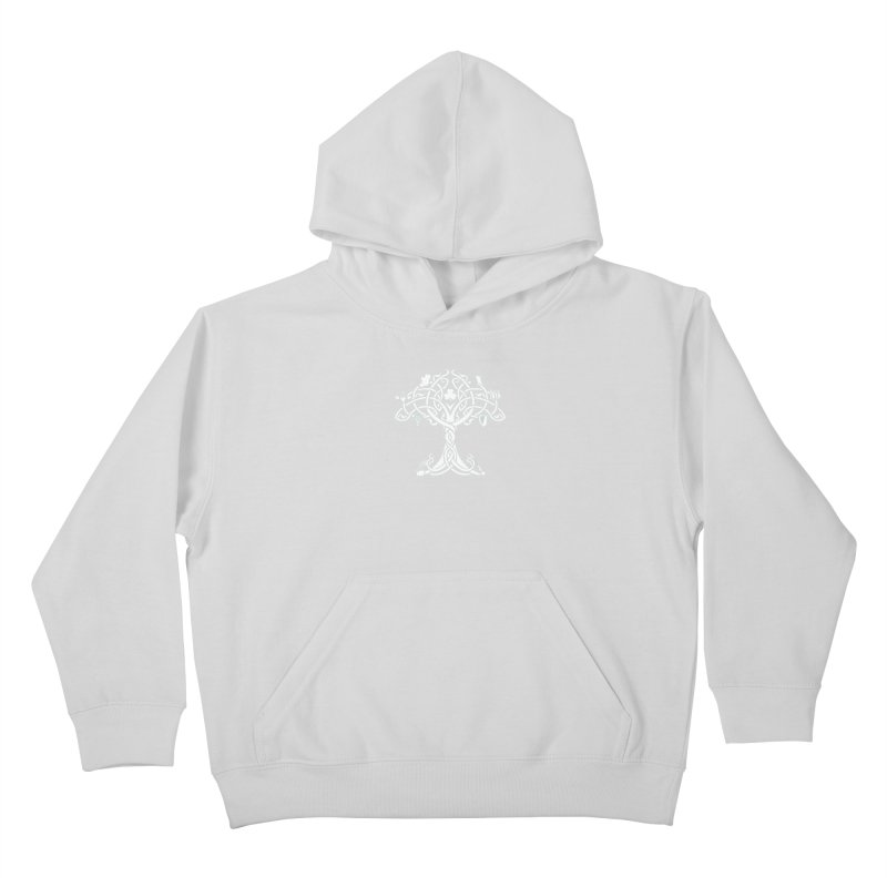 Irish Tree of Life Kids Pullover Hoody by Brian Harms