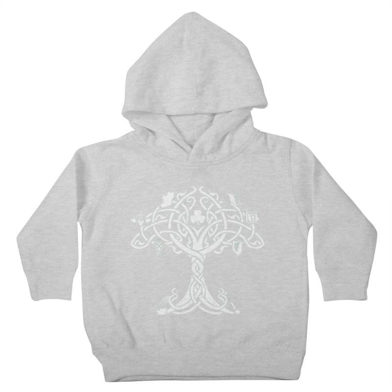 Irish Tree of Life Kids Toddler Pullover Hoody by Brian Harms
