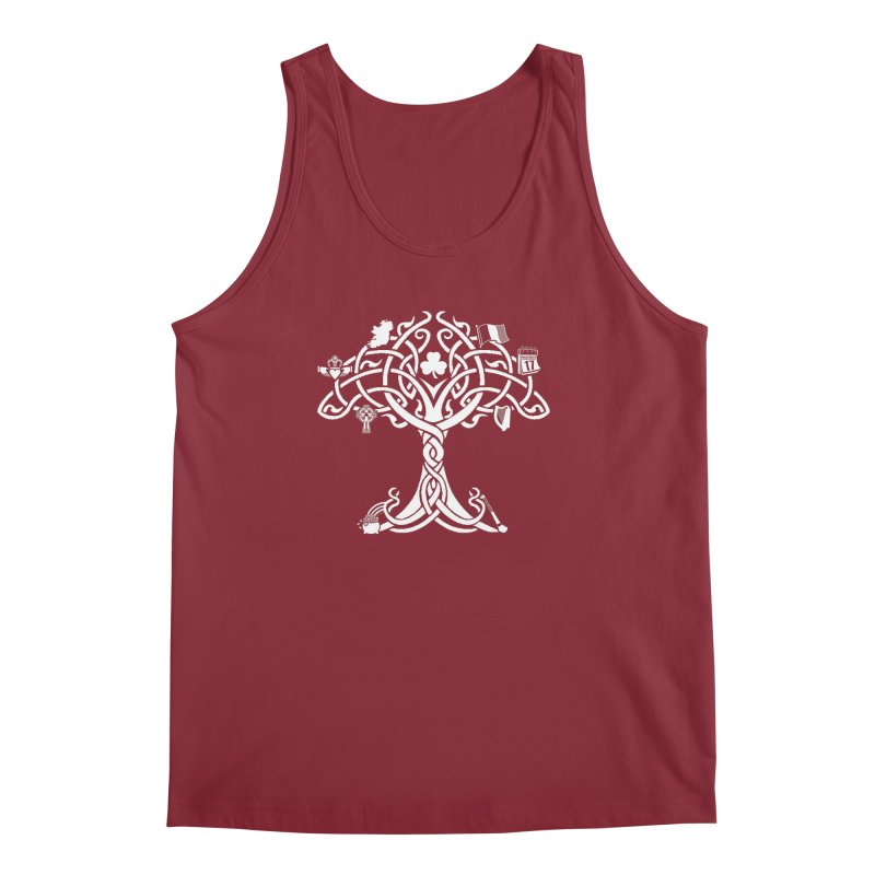Irish Tree of Life Men's Regular Tank by Brian Harms