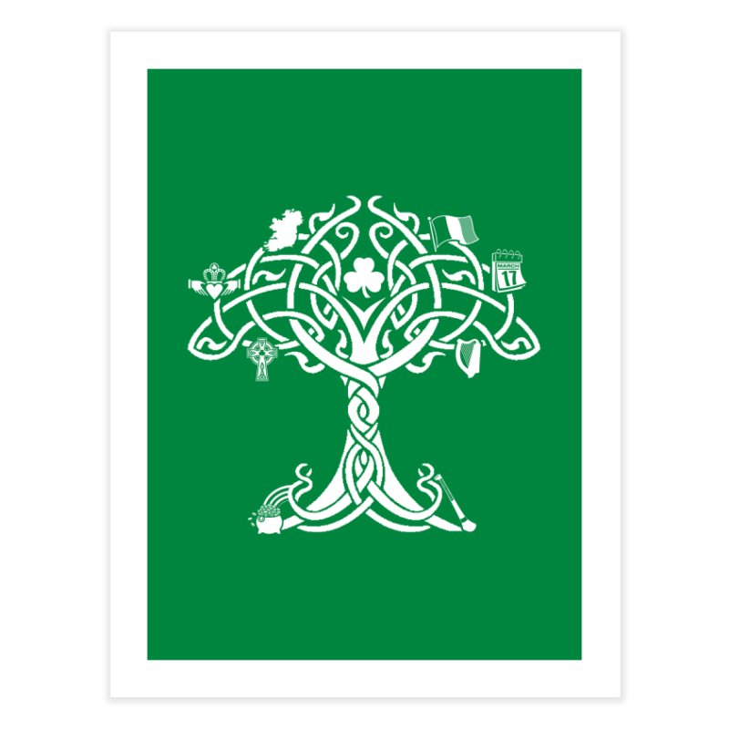 Irish Tree of Life Home Fine Art Print by Brian Harms
