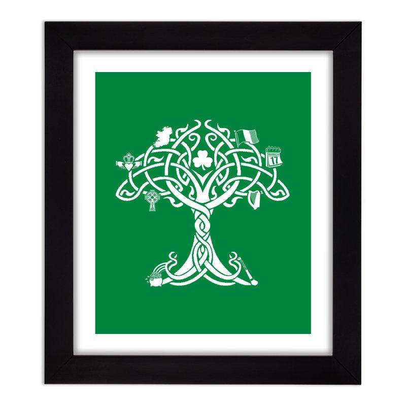 Irish Tree of Life Home Framed Fine Art Print by Brian Harms