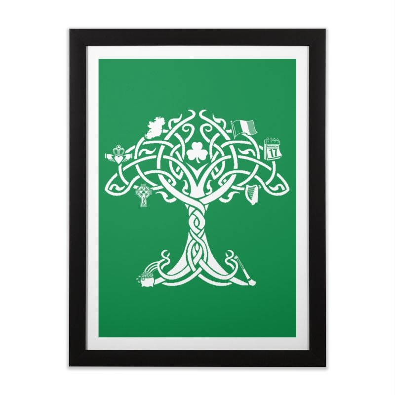 Irish Tree of Life Home Framed Fine Art Print by Brian Harms