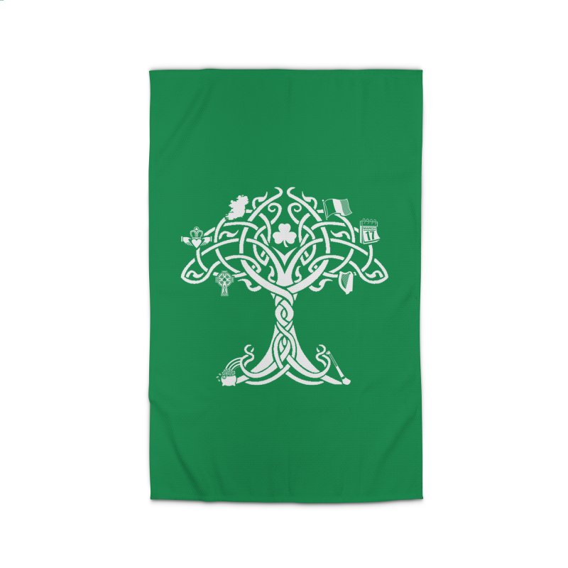 Irish Tree of Life Home Rug by Brian Harms