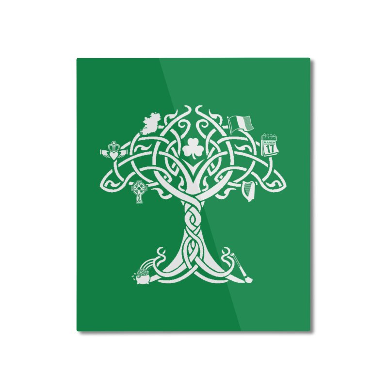 Irish Tree of Life Home Mounted Aluminum Print by Brian Harms