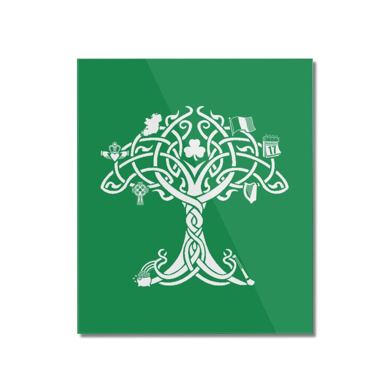 Irish Tree of Life Home Mounted Acrylic Print by Brian Harms