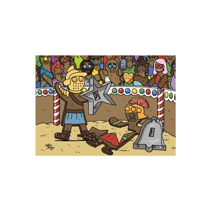 Injurebread Gladiators Holiday Card Accessories Greeting Card by brianmcl's Artist Shop