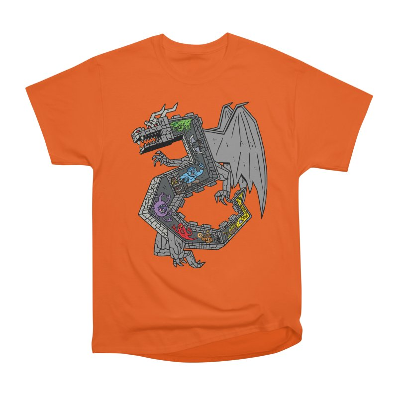 Dungeon Dragon Women's T-Shirt by brianmcl's Artist Shop