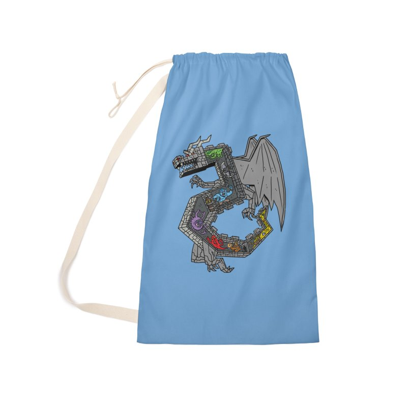 Dungeon Dragon Accessories Bag by brianmcl's Artist Shop