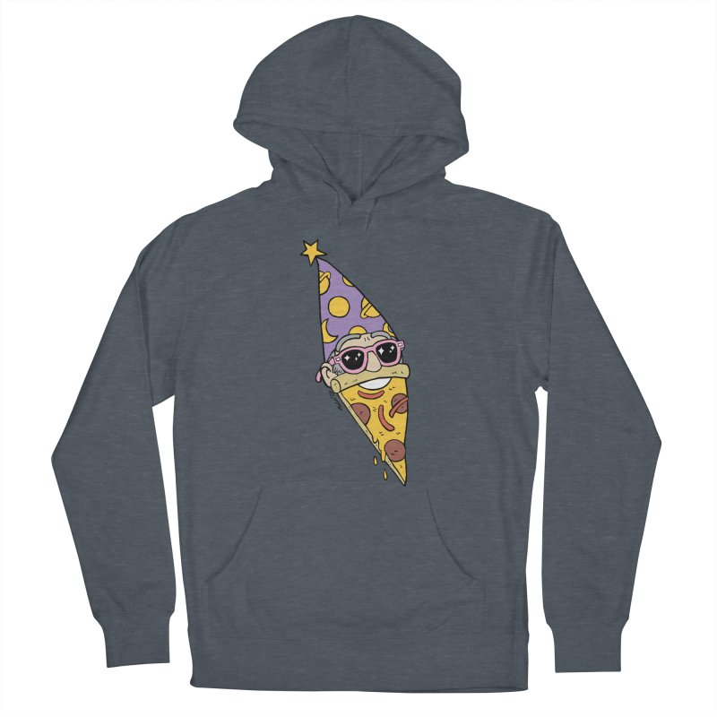 Pizza Wizard Women's French Terry Pullover Hoody by brianmcl's Artist Shop