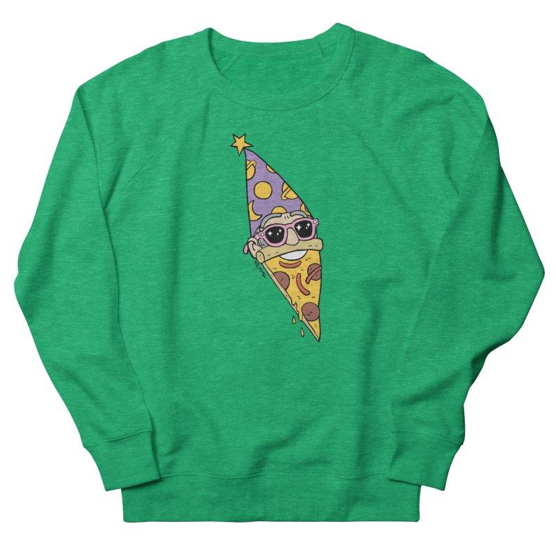 Pizza Wizard Women's Sweatshirt by brianmcl's Artist Shop