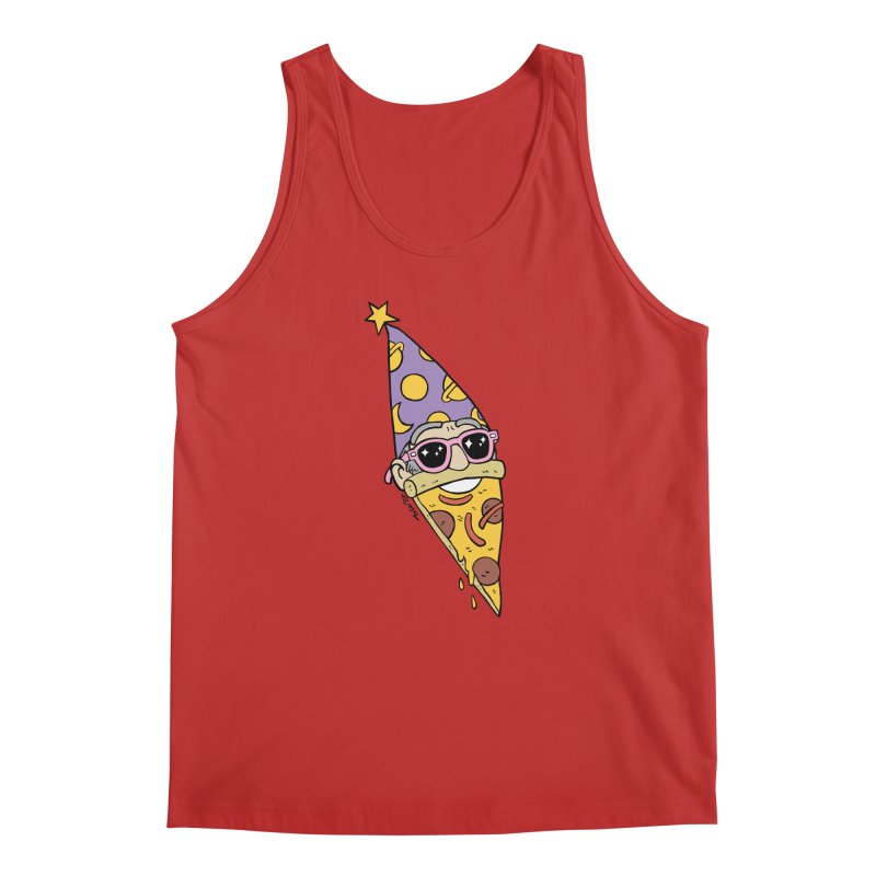 Pizza Wizard Men's Regular Tank by brianmcl's Artist Shop