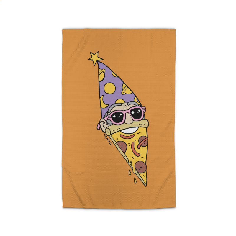 Pizza Wizard Home Rug by brianmcl's Artist Shop