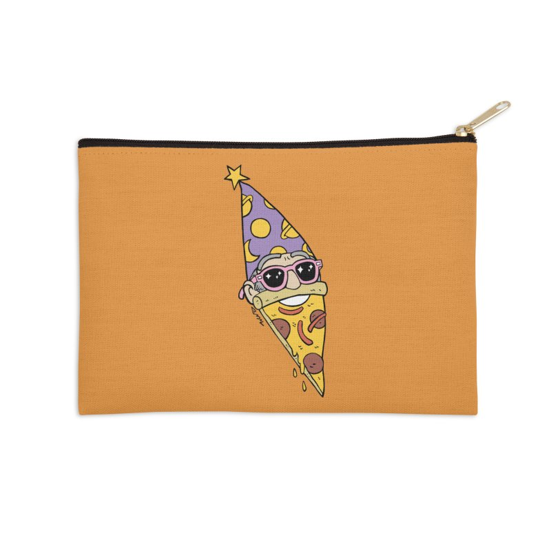 Pizza Wizard Accessories Zip Pouch by brianmcl's Artist Shop