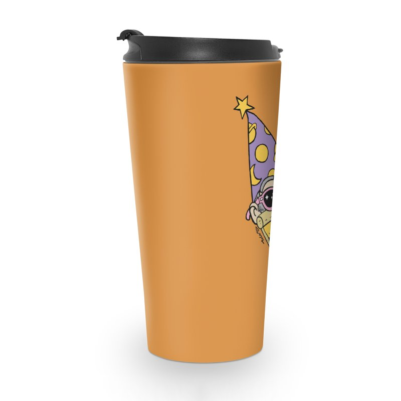 Pizza Wizard Accessories Travel Mug by brianmcl's Artist Shop