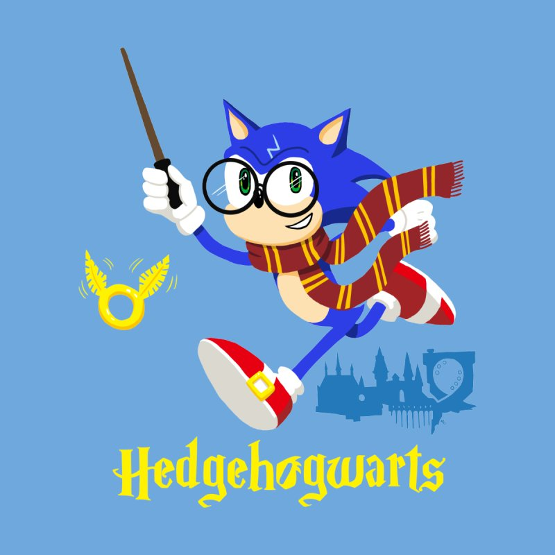Hedgehogwarts Women's T-Shirt by brianmcl's Artist Shop