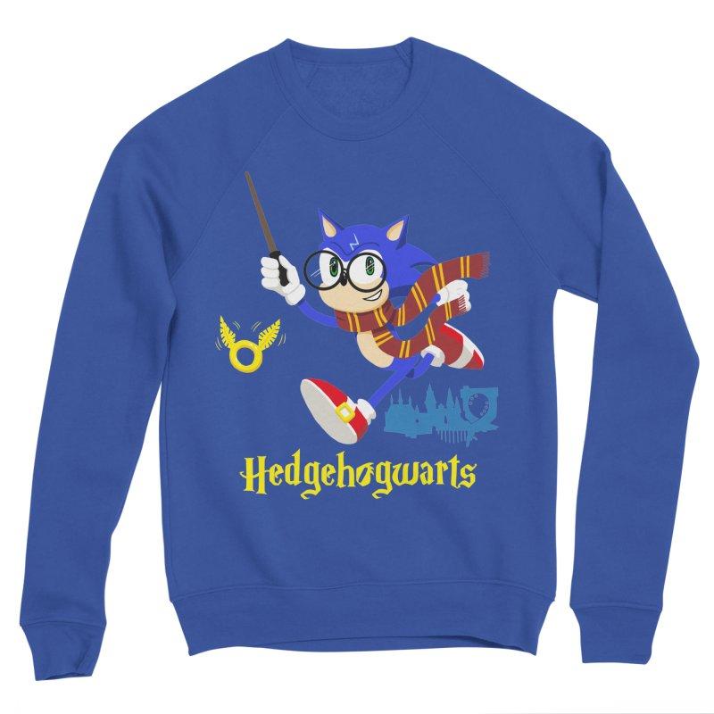 Hedgehogwarts Men's Sweatshirt by brianmcl's Artist Shop
