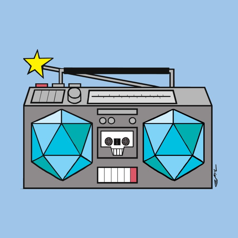 2d20 BoomBox Women's T-Shirt by brianmcl's Artist Shop