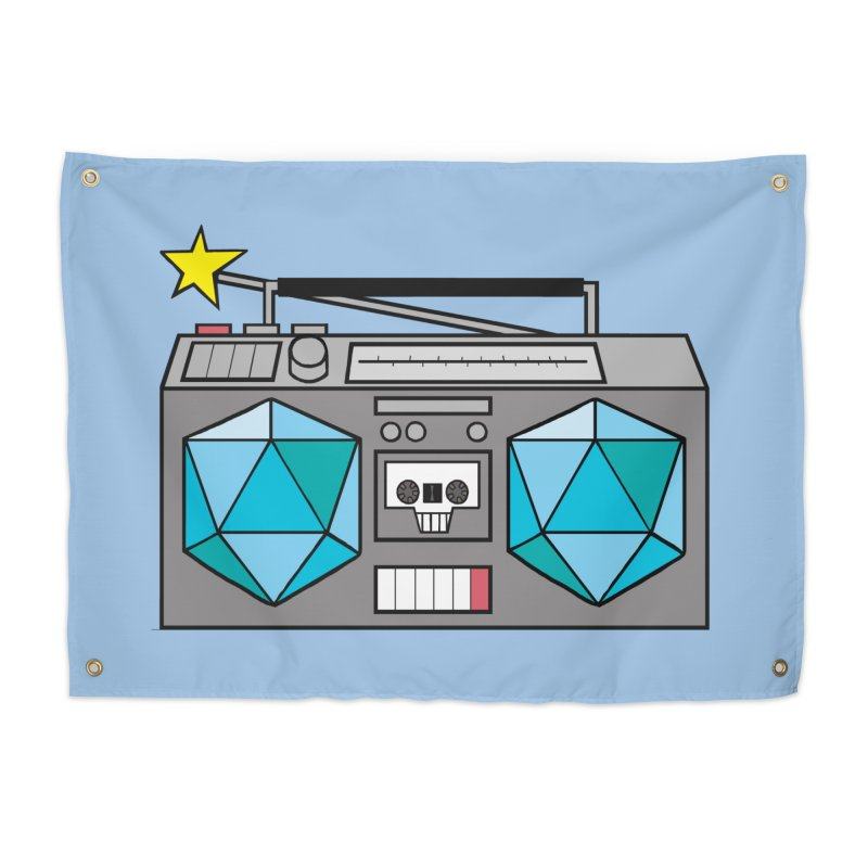 2d20 BoomBox Home Tapestry by brianmcl's Artist Shop