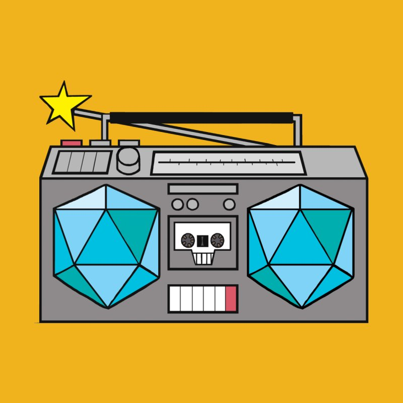 2d20 BoomBox by brianmcl's Artist Shop