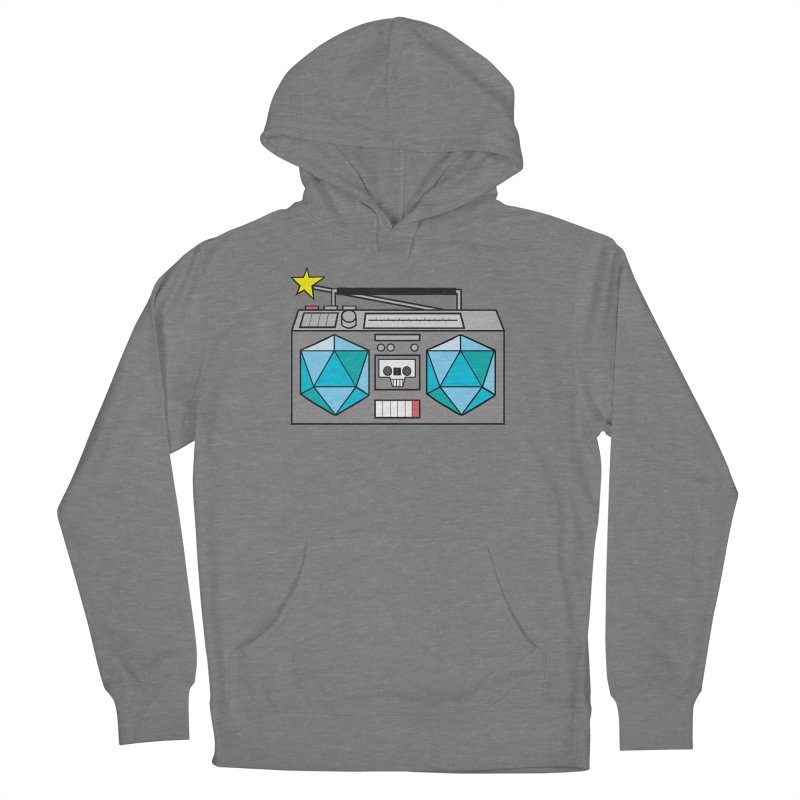 2d20 BoomBox Women's Pullover Hoody by brianmcl's Artist Shop