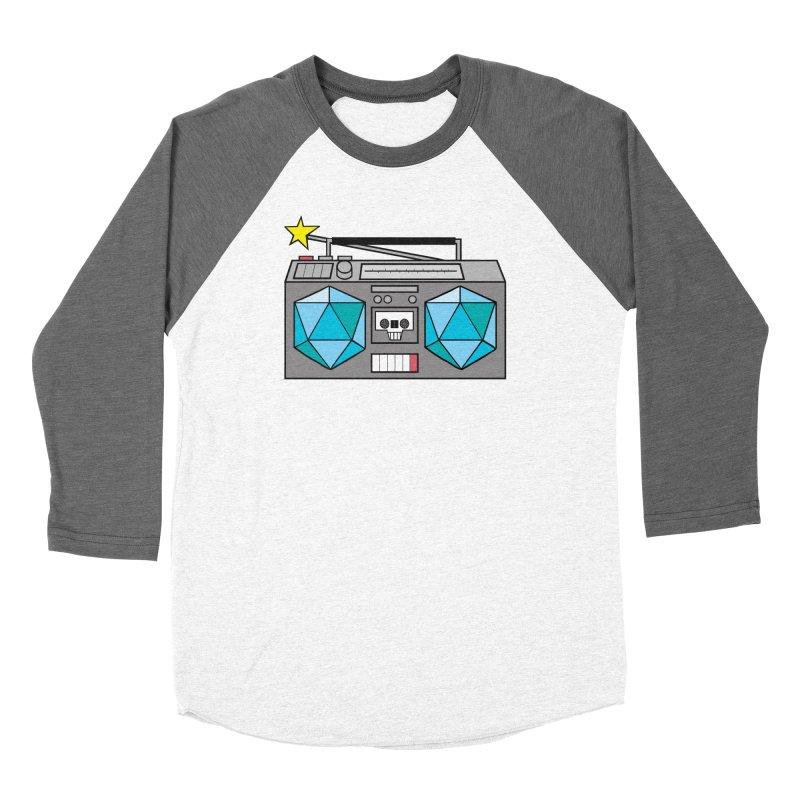 2d20 BoomBox Women's Longsleeve T-Shirt by brianmcl's Artist Shop