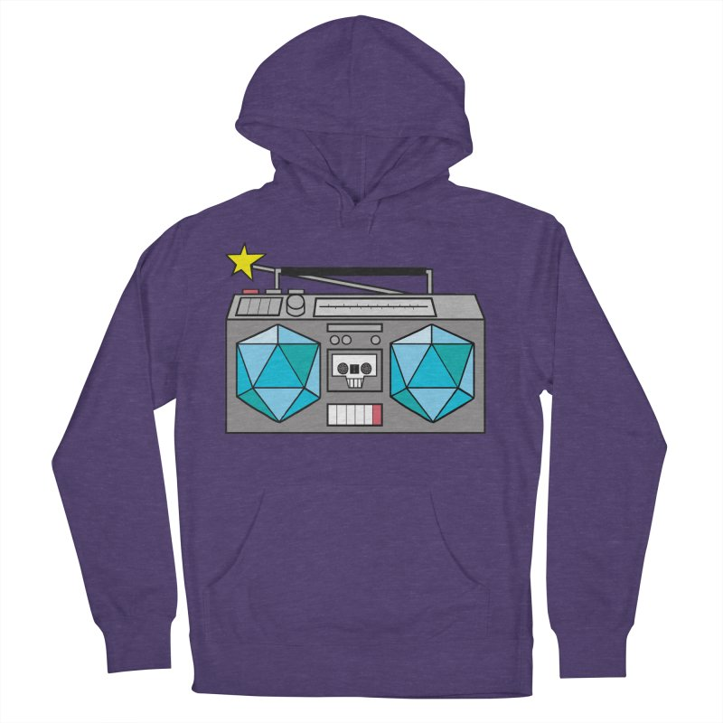 2d20 BoomBox Women's French Terry Pullover Hoody by brianmcl's Artist Shop