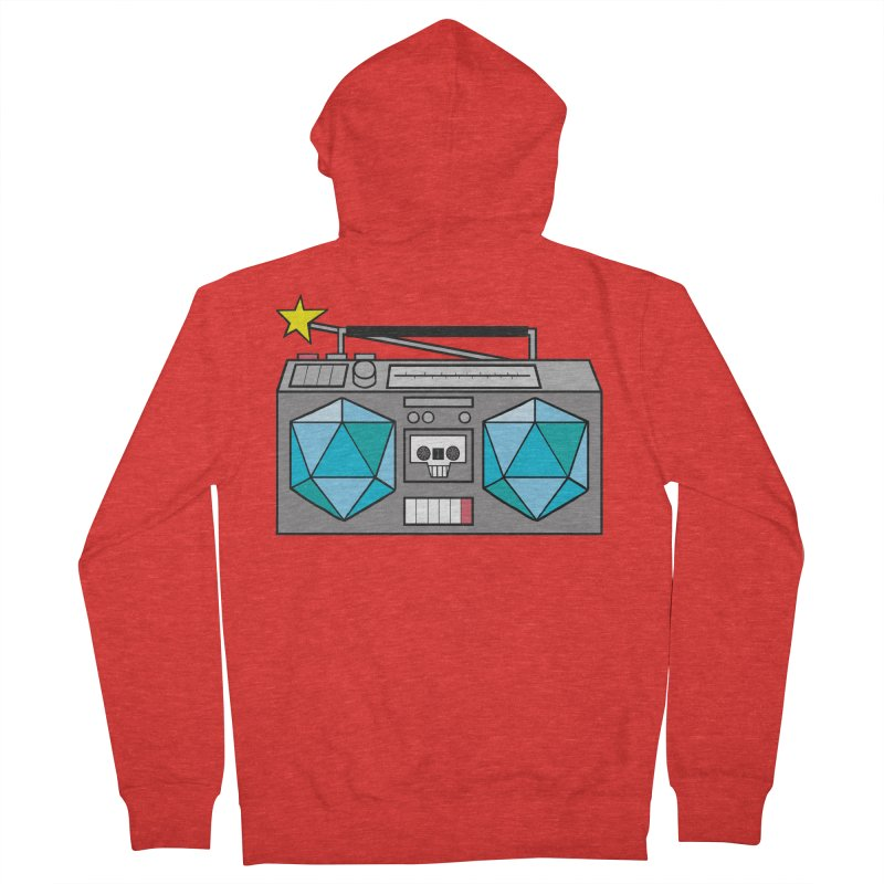 2d20 BoomBox Women's Zip-Up Hoody by brianmcl's Artist Shop