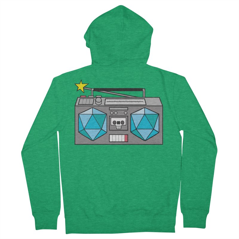 2d20 BoomBox Men's Zip-Up Hoody by brianmcl's Artist Shop