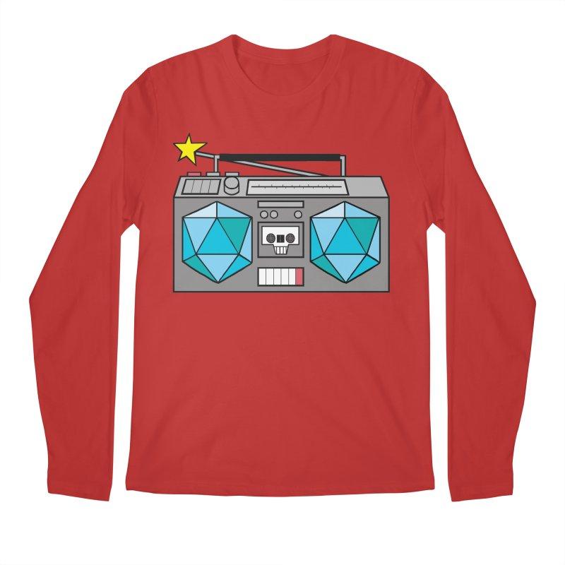 2d20 BoomBox Men's Regular Longsleeve T-Shirt by brianmcl's Artist Shop