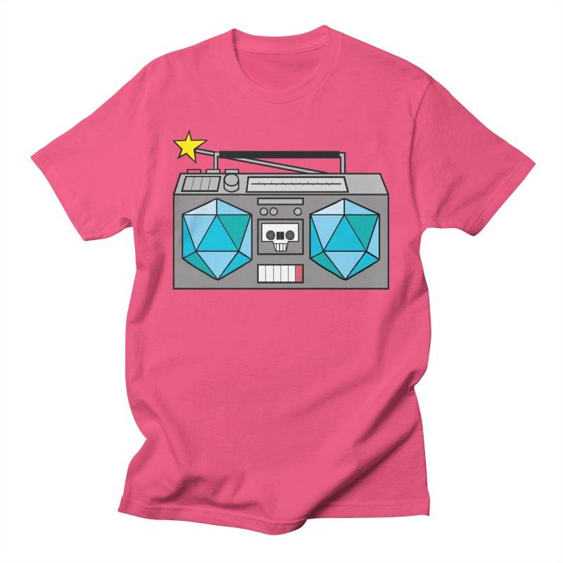 2d20 BoomBox Women's Regular Unisex T-Shirt by brianmcl's Artist Shop