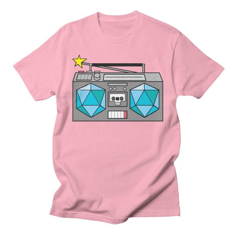 2d20 BoomBox Men's Regular T-Shirt by brianmcl's Artist Shop
