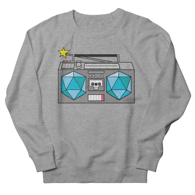 2d20 BoomBox Women's French Terry Sweatshirt by brianmcl's Artist Shop