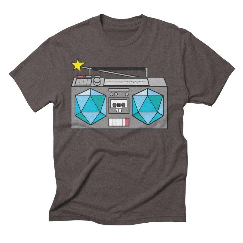 2d20 BoomBox Men's Triblend T-Shirt by brianmcl's Artist Shop