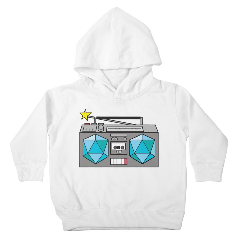 2d20 BoomBox Kids Toddler Pullover Hoody by brianmcl's Artist Shop