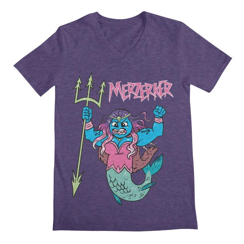 Merzerker Men's V-Neck by brianmcl's Artist Shop