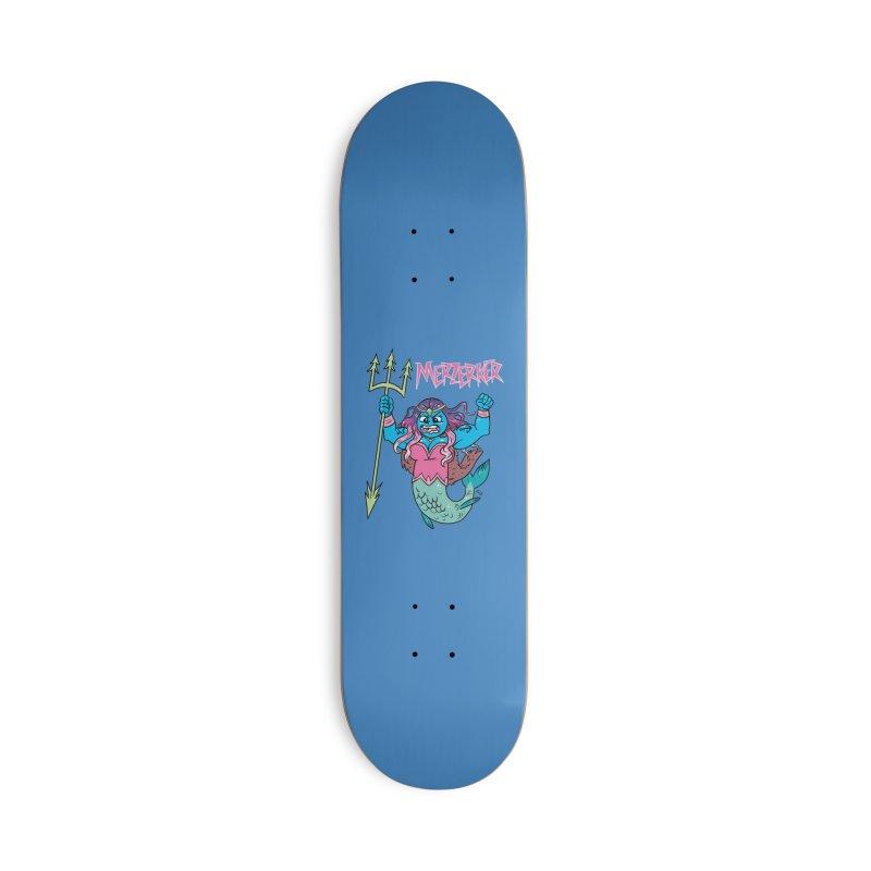 Merzerker Accessories Skateboard by brianmcl's Artist Shop
