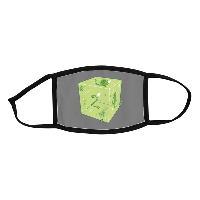 Gelatinous D6 Accessories Face Mask by brianmcl's Artist Shop