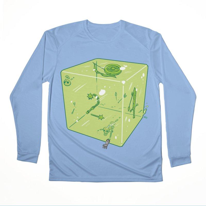 Gelatinous D6 Men's Longsleeve T-Shirt by brianmcl's Artist Shop