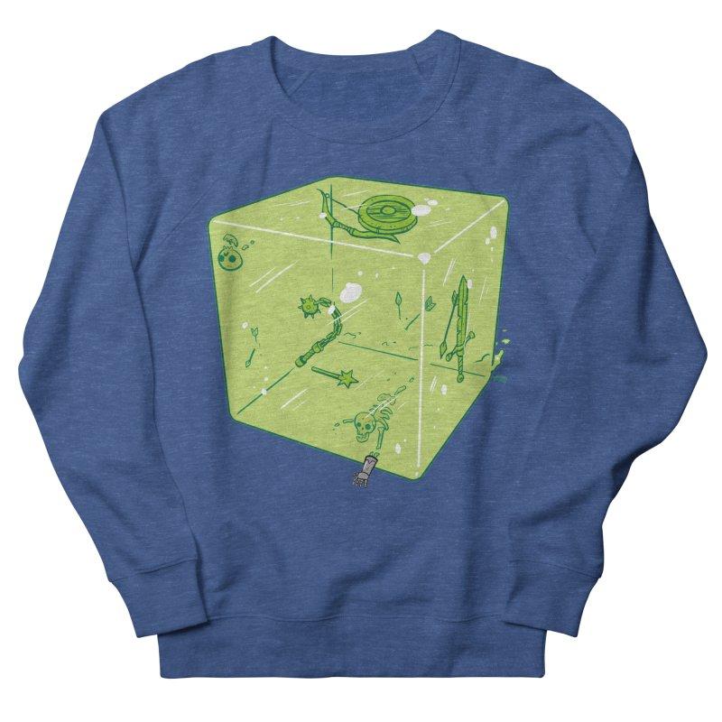 Gelatinous D6 Men's Sweatshirt by brianmcl's Artist Shop