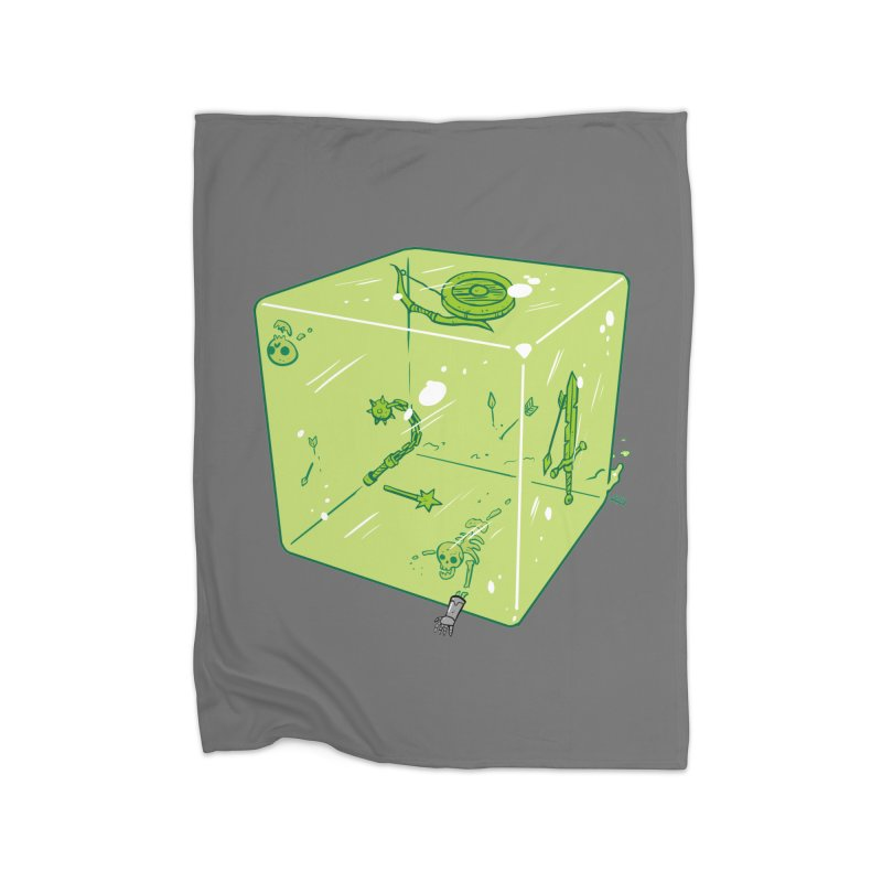 Gelatinous D6 Home Blanket by brianmcl's Artist Shop