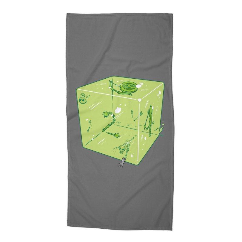 Gelatinous D6 Accessories Beach Towel by brianmcl's Artist Shop