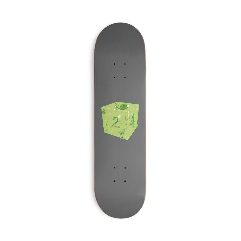 Gelatinous D6 Accessories Skateboard by brianmcl's Artist Shop